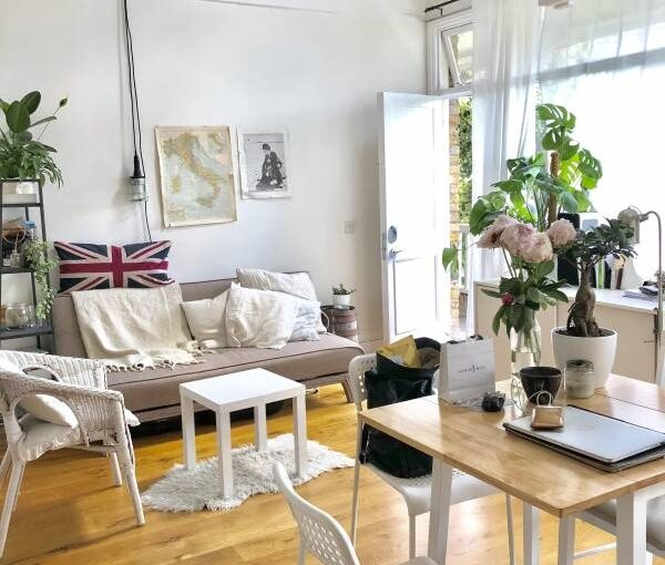 Large and bright studio in Angel